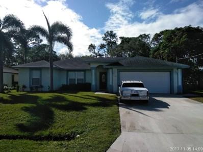 1768 SE Manth Lane, Port Saint Lucie, FL 34983 - MLS#: RX-10379524