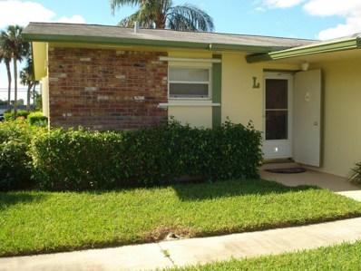 2935 W Crosley Drive UNIT L, West Palm Beach, FL 33415 - MLS#: RX-10379781