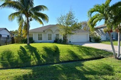 642 SE Starflower Avenue, Port Saint Lucie, FL 34983 - MLS#: RX-10380035