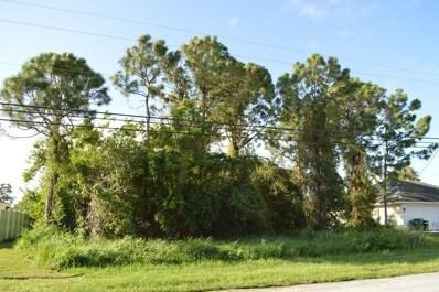 1114 SW Bellevue Avenue, Port Saint Lucie, FL 34953 - MLS#: RX-10380668