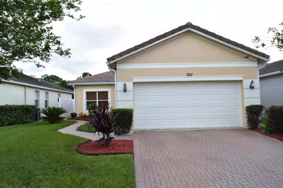 221 SW Manatee Springs Way, Port Saint Lucie, FL 34986 - MLS#: RX-10380800