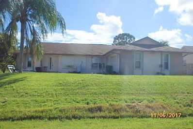 502 SW Ray, Port Saint Lucie, FL 34953 - MLS#: RX-10381092