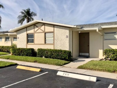 2811 Ashley Drive W UNIT C, West Palm Beach, FL 33415 - MLS#: RX-10381183