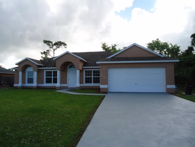 810 SW Nichols Terrace, Port Saint Lucie, FL 34953 - MLS#: RX-10381371