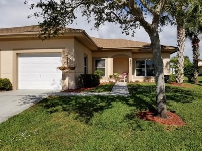 1830 S Dove Tail Drive, Fort Pierce, FL 34982 - MLS#: RX-10381397