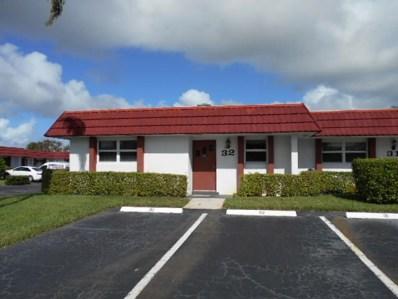5800 W Fernley Drive UNIT 32, West Palm Beach, FL 33415 - MLS#: RX-10382178