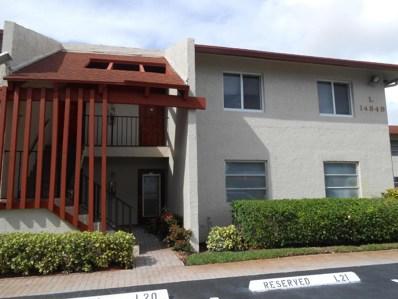 14849 Cumberland Drive UNIT 108, Delray Beach, FL 33446 - MLS#: RX-10382276