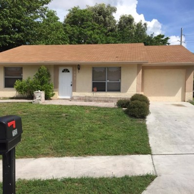 7093 Glenwood Drive, Boynton Beach, FL 33436 - MLS#: RX-10383085