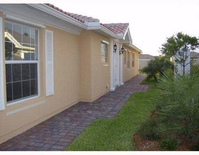 10437 SW Stratton Drive, Port Saint Lucie, FL 34987 - MLS#: RX-10383252