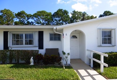 2900 Crosley Drive E UNIT G, West Palm Beach, FL 33415 - MLS#: RX-10383701