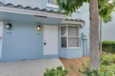 940 Jeffery Street, Boca Raton, FL 33487 - MLS#: RX-10384096