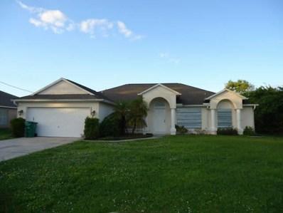 5353 NW Akbar Terrace, Port Saint Lucie, FL 34986 - MLS#: RX-10384268