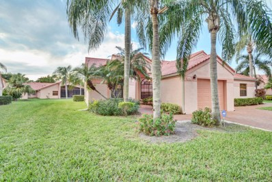 7593 Lexington Club Boulevard UNIT A, Delray Beach, FL 33446 - MLS#: RX-10384502