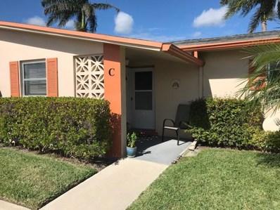2747 Dudley Drive E UNIT C, West Palm Beach, FL 33415 - MLS#: RX-10385392