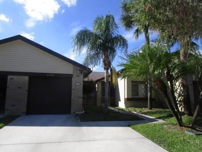 192 Meander Circle, Royal Palm Beach, FL 33411 - MLS#: RX-10385528