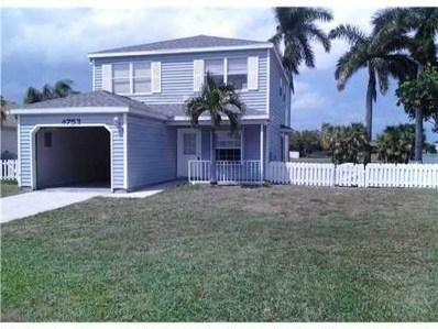 4753 Lakeside Circle, West Palm Beach, FL 33417 - MLS#: RX-10385677