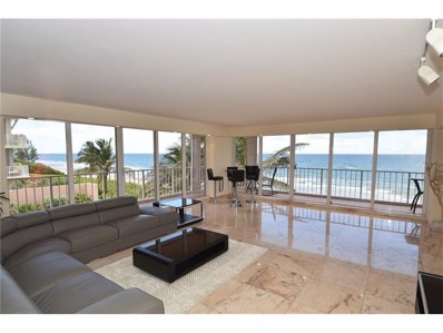 3505 S Ocean Boulevard UNIT 3n, Highland Beach, FL 33487 - MLS#: RX-10385712