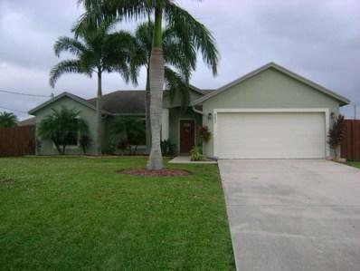 4673 SW Cacao Street, Port Saint Lucie, FL 34953 - MLS#: RX-10385829