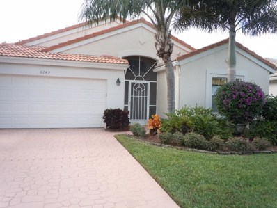 6249 Coral Reef Terrace, Boynton Beach, FL 33437 - MLS#: RX-10386136