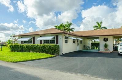 554 Sandpiper Circle, Delray Beach, FL 33445 - MLS#: RX-10386378