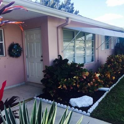 182 High Point Terrace W UNIT B, Delray Beach, FL 33445 - MLS#: RX-10386442