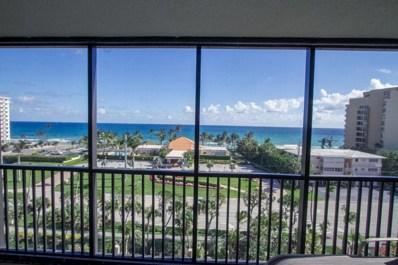 3400 S Ocean Boulevard UNIT 7 B, Highland Beach, FL 33487 - MLS#: RX-10386483