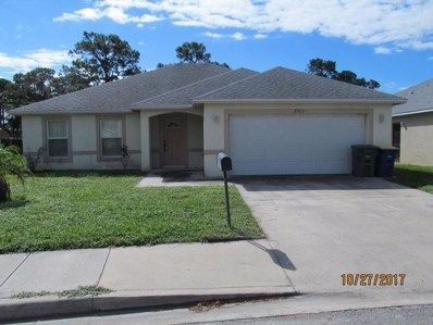 2913 Zora Neale, Fort Pierce, FL 34946 - MLS#: RX-10386504