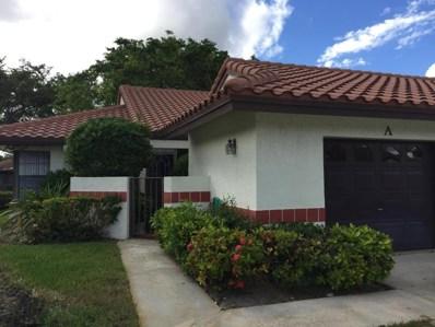 10975 Dolphin Palm Court UNIT A, Boynton Beach, FL 33437 - MLS#: RX-10386882