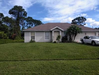 1062 SW Longfellow Road, Port Saint Lucie, FL 34953 - MLS#: RX-10386991