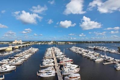 400 N Flagler Drive UNIT 1804\/18>, West Palm Beach, FL 33401 - MLS#: RX-10387068