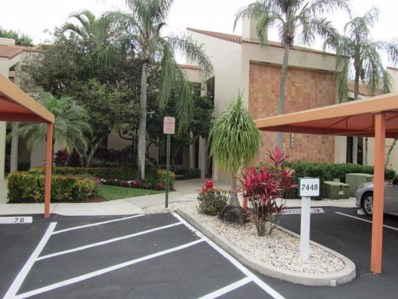 7448 La Paz Place UNIT 204, Boca Raton, FL 33433 - MLS#: RX-10387503