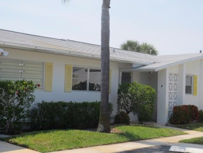 2703 Barkley Drive E UNIT H, West Palm Beach, FL 33415 - MLS#: RX-10387596
