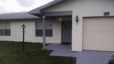 632 SE Port St Lucie Boulevard, Port Saint Lucie, FL 34953 - MLS#: RX-10387716
