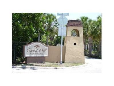 6094 Forest Hill Bl UNIT 206, West Palm Beach, FL 33415 - MLS#: RX-10388654