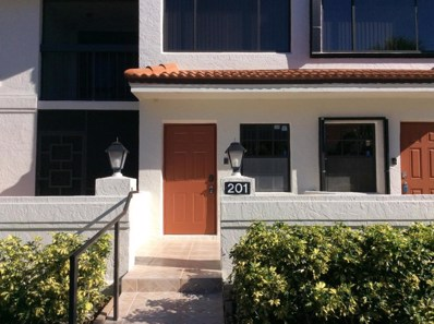 9680 Sills Drive E UNIT 201, Boynton Beach, FL 33437 - MLS#: RX-10388926