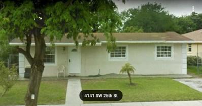 4120 SW 25th Street, West Park, FL 33023 - MLS#: RX-10389364