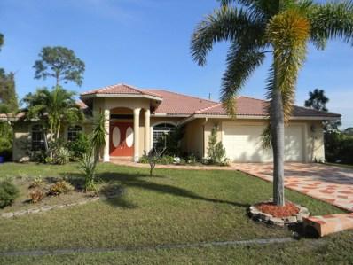 4165 SW Spickler Street, Port Saint Lucie, FL 34953 - MLS#: RX-10389810