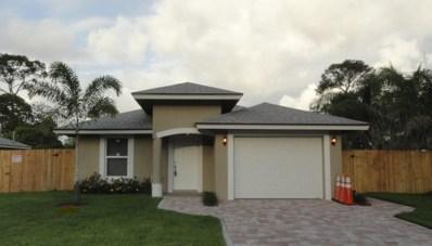3194 Evans Drive, Palm Springs, FL 33461 - MLS#: RX-10389925