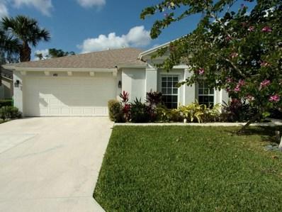 481 SW Talquin Lane, Port Saint Lucie, FL 34986 - MLS#: RX-10390295