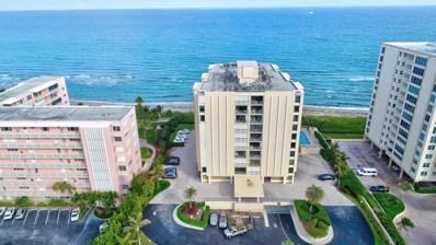 3009 S Ocean Boulevard UNIT 602, Highland Beach, FL 33487 - MLS#: RX-10390477