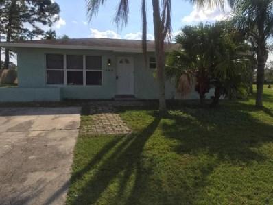 144 SW Lakehurst Drive, Port Saint Lucie, FL 34983 - MLS#: RX-10391016