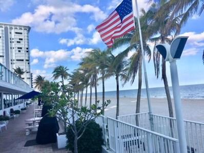1360 S Ocean Boulevard UNIT 1007, Pompano Beach, FL 33062 - MLS#: RX-10391022