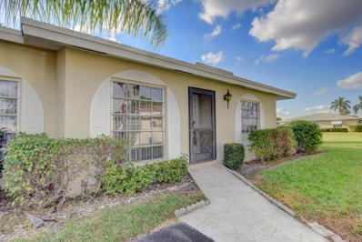 13787 Flora Place UNIT D, Delray Beach, FL 33484 - MLS#: RX-10391172