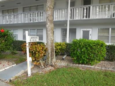 198 Berkshire J, West Palm Beach, FL 33417 - MLS#: RX-10391440