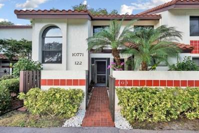 10771 Palm Lake Avenue UNIT 101, Boynton Beach, FL 33437 - MLS#: RX-10391646