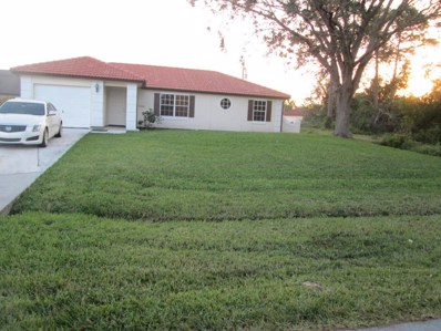 1552 SW Aledo Lane SW, Port Saint Lucie, FL 34953 - MLS#: RX-10392264