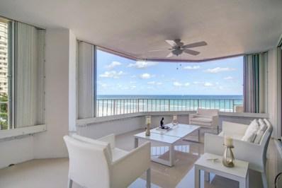 550 S Ocean Boulevard UNIT 401, Boca Raton, FL 33432 - MLS#: RX-10392302