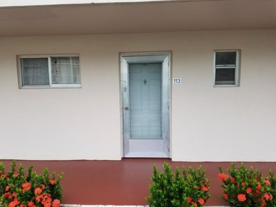 2728 N Garden Drive UNIT 113, Lake Worth, FL 33461 - MLS#: RX-10393213