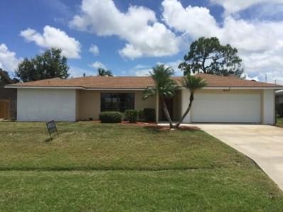 642 SE Crescent Avenue, Port Saint Lucie, FL 34984 - MLS#: RX-10393893