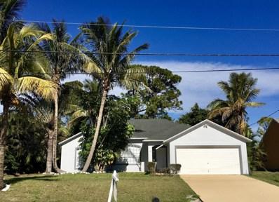 114 SW Dalton Circle, Port Saint Lucie, FL 34953 - MLS#: RX-10393999